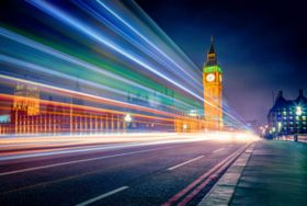 Colors of London - stock photo