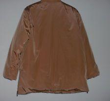 GIL BRET Damen-Jacke Größe 40, braun-beige, mit Reißverschluß und Druckknöpfen