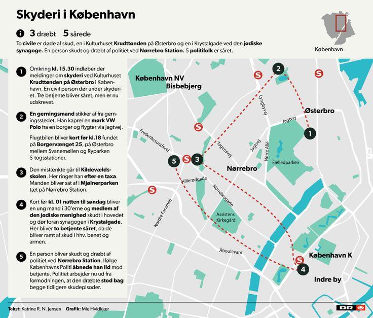 OVERBLIK Det ved vi om attentatforsøget i København | Nyheder | DR