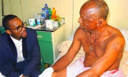 Welcome to Chidi Egesionu's blog: D'banj Visits Nyanya Blast Victims [Photo]