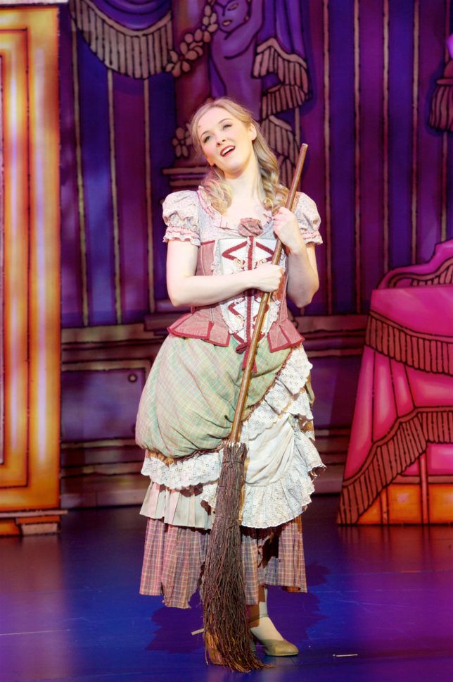 A review of the relaxed performance of Cinderella at Bristol Hippodrome.