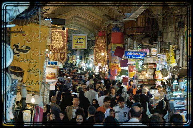 Iran | Tehran Grand Bazaar.  image: shapour bahrami. view on Fb https://www.facebook.com/SinbadsIranPocketGuide #MyIran #Iran #TravelToIran #travel #tehran