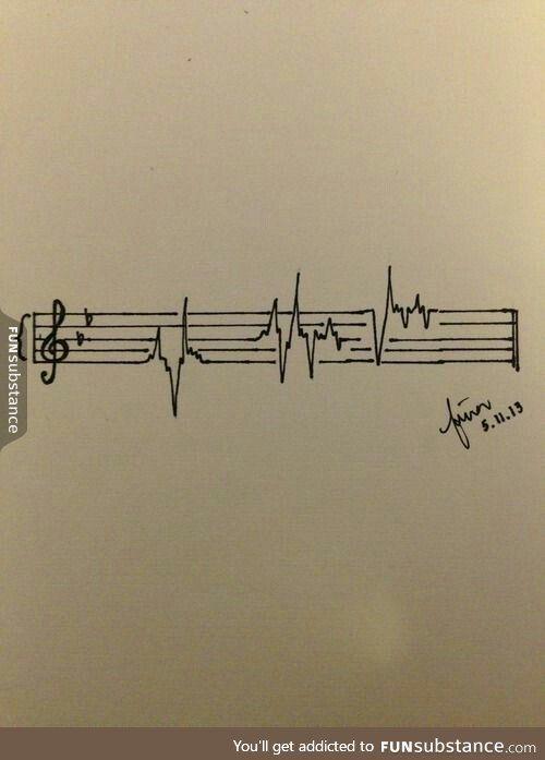 Music is my painkiller