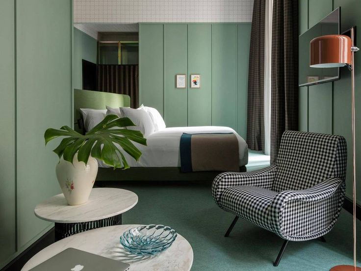 20 tiny hotel rooms that do small space RIGHT on domino.com