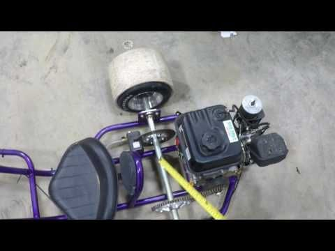 Drift trike measurements and parts list - YouTube