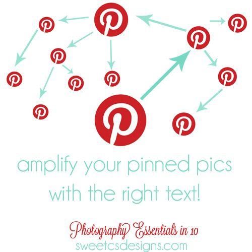 Photo Essentials 101: Pinnable Text | sweetcsdesigns