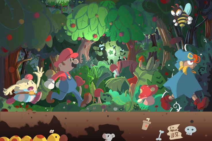 Follow Geno's Route Here by *Loopy-Lupe on deviantART