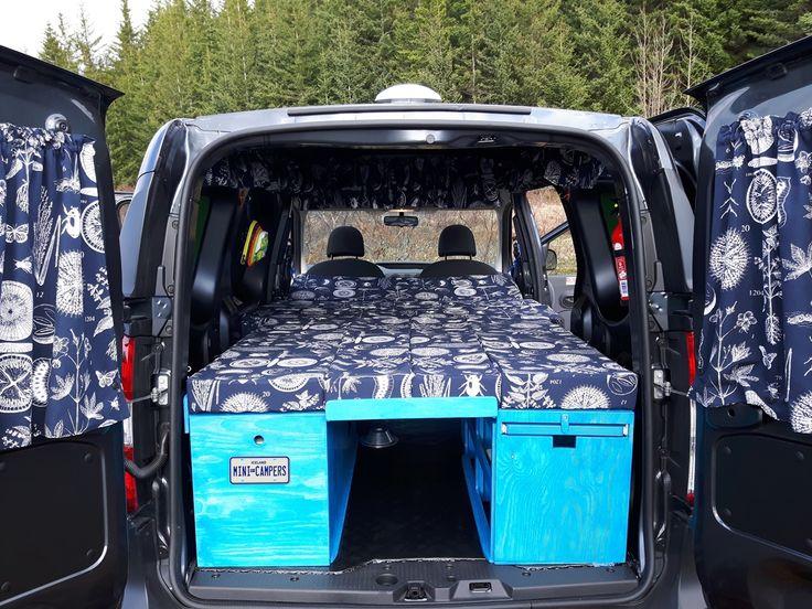 dacia dokker imini camper van with comfortably sleeping. Black Bedroom Furniture Sets. Home Design Ideas