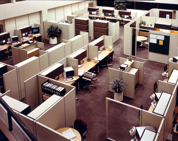 Best History Of Office Designs Through The Ages Images On