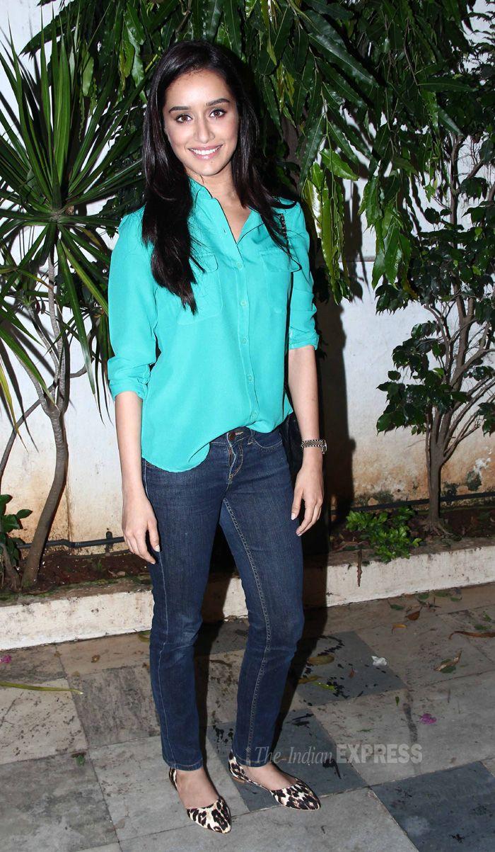 Shraddha Kapoor at 'Ek Villain' success party.