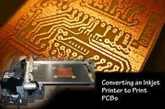 Transformer une imprimante pour graver des PCB