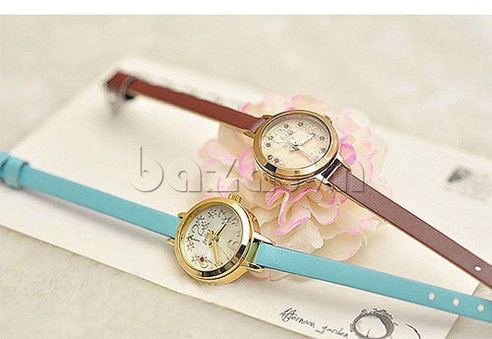 Đồng hồ nữ dây da Hàn Quốc Julius JA-725 - http://baza.vn/dong-ho-nu/c