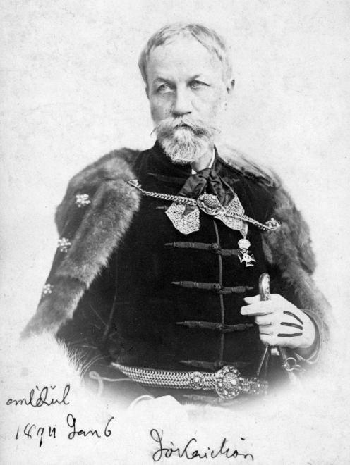 Jókai Mór író.