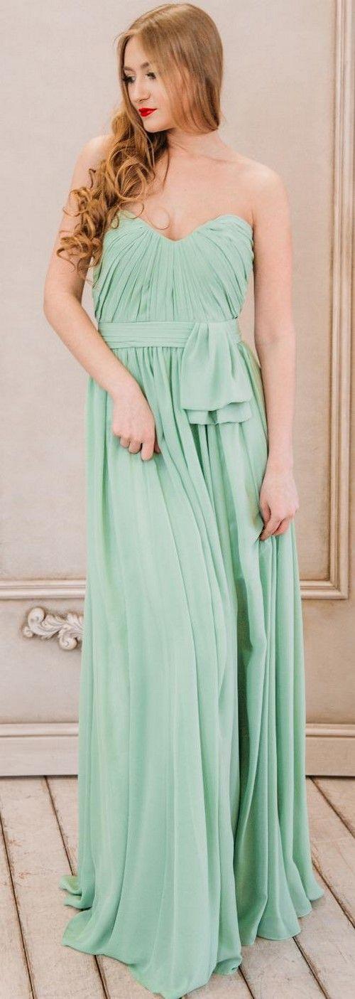 Красивые зеленые платья в пол 2017-2018. Модные вечерние платья зеленого цвета на выпускной, зеленые платья фасоны, короткие зеленые платья тренды, новинки.