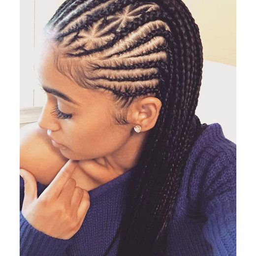 Tremendous 1000 Ideas About Cornrow Braid Styles On Pinterest Braid Styles Short Hairstyles For Black Women Fulllsitofus