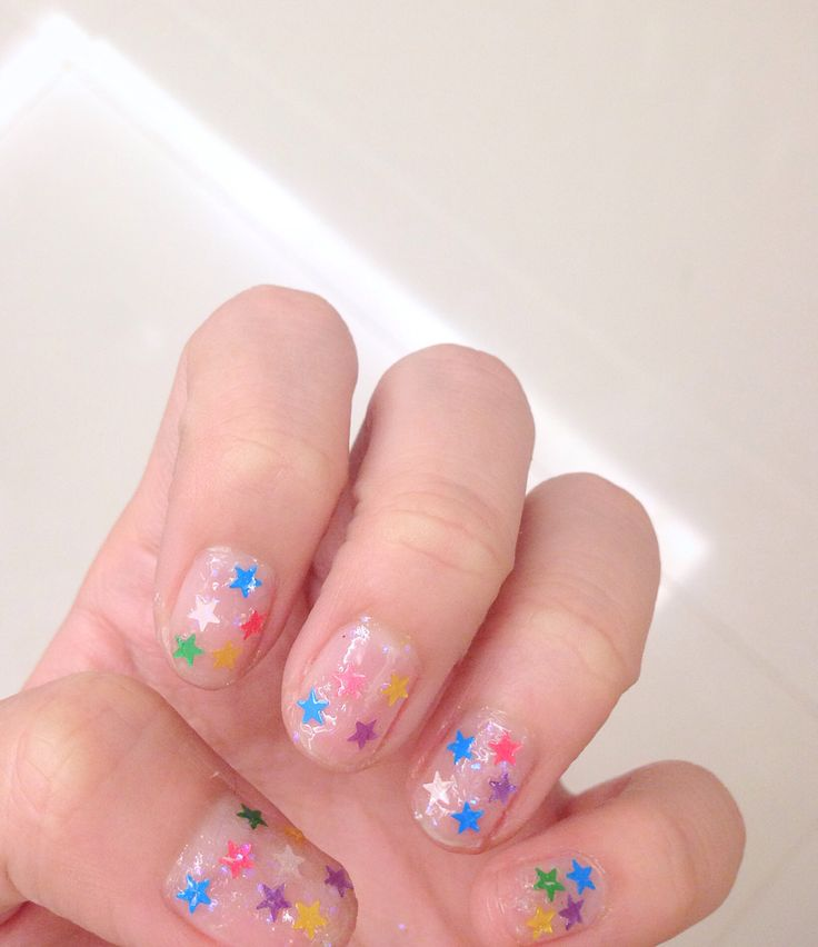 my starry nails