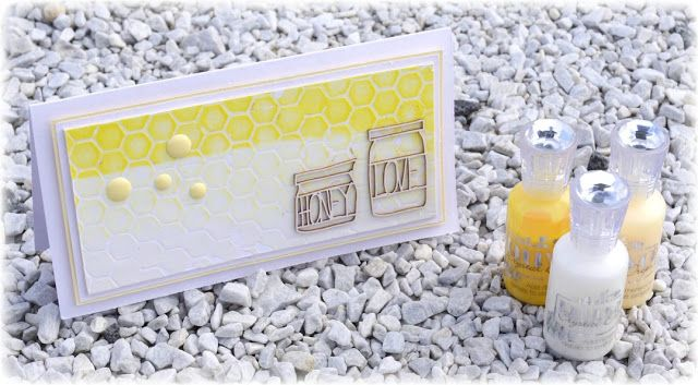 Mitt Lille Papirverksted: Summer Cards made with Nuvo Crystal Drops