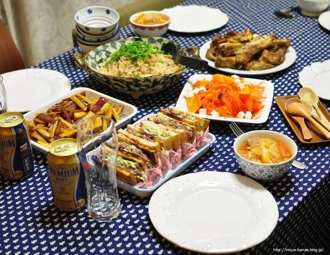 てんきち21歳の誕生日の晩ごはんと、≪レシピ≫さっぱり梅とじゃこの炊き込みご飯と、B612で撮ったメイ http://inoue-kanae.blog.jp/archives/1064732111.html?h=1