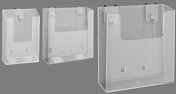 Wall-Mount Brochure Holder - for counselling area | Pharma ...