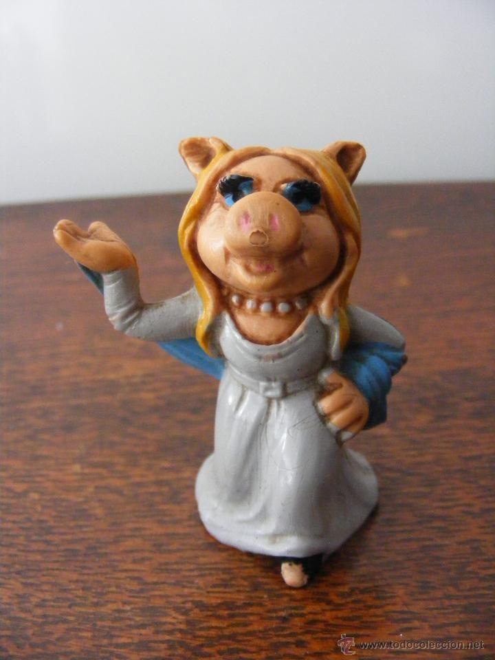 FIGURA MIS PIGGY PVC MUPPET SHOW - 1976/77