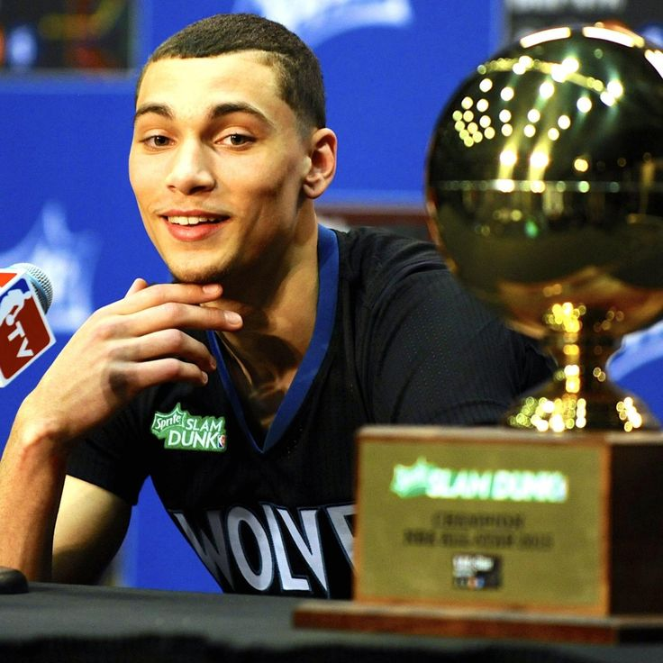 Timberwolves+Zach+LaVine+Dunk | Zach LaVine Says He Would Beat LeBron James in a Dunk Contest ...