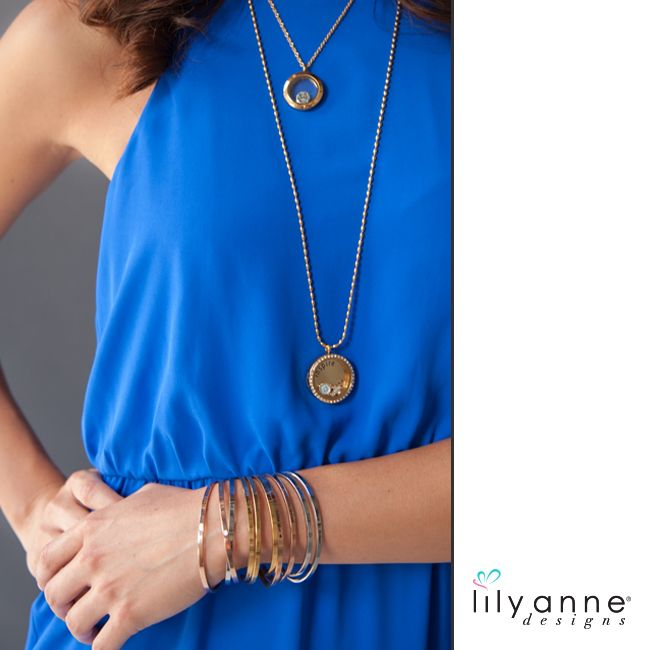Gold Galore! What's your favourite Lily Anne Designs jewellery combo? #LilyAnneDesigns #Gold #PersonalisedJewellery