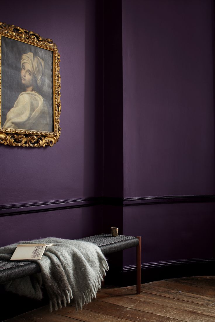 Purple has many cultural associations; the shade is often described as having a regal quality. But you needn't be blue blooded to use it your home. This rich and decadent shade of Wild Blackberry will give spaces sophisticated airs and graces with a modern twist. Your home is your castle, after all.