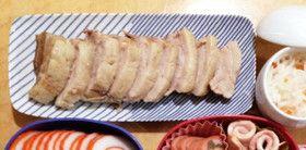 簡単土鍋煮豚ゆで豚