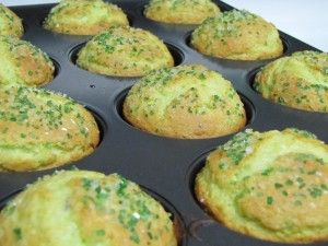 Almond Pistachio Muffins  I made these for St. Patrick's Day and they were so yummy!