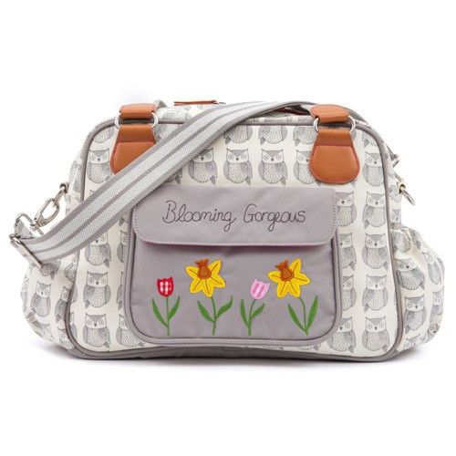 Pink Lining Blooming Gorgeous Changing Bag (Wise Owl)