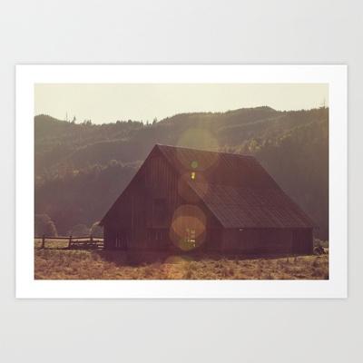 Summer Fields | 04 Art Print by Around & Around - $15.00