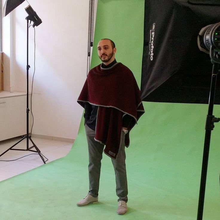 Goodmorning world!!some more photos from the #photoshooting day.... Capes and ponchos are not only for women ... #made__couture