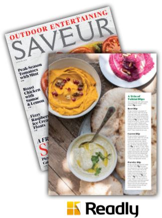 Suggestion about Saveur Aug / Sept 2015 page 77