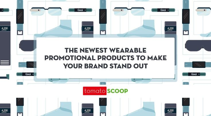 the newest wearable promotional products to make your brand stand out