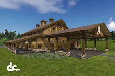 Wedding Barn & Event Venue Builders | DC Building More