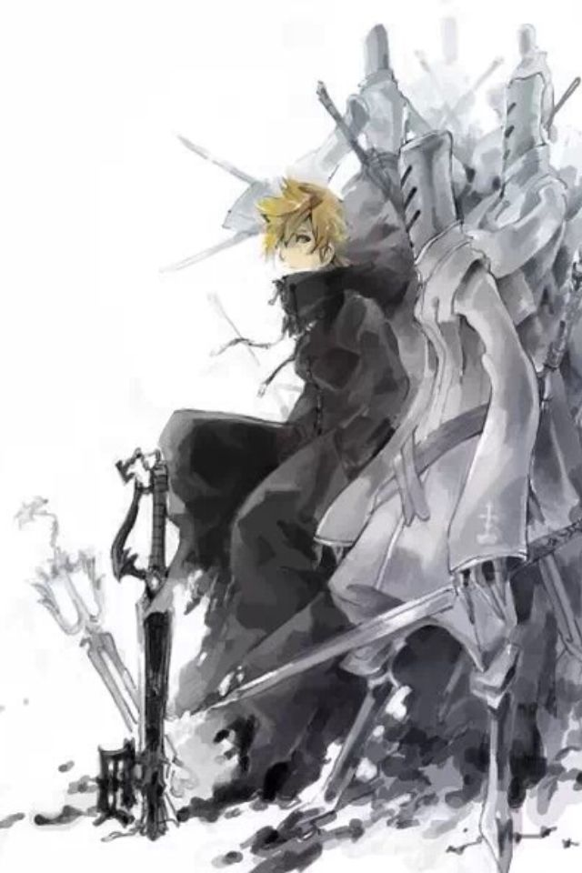 Roxas is not as happy as Sora, but that makes me love him more. I feel so much pity for him...