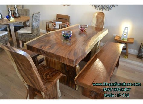 wooden dining furniture. Solid Wood Dining Table - But Longer! Wooden Furniture