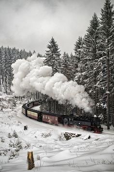 Snow Train, The Black Forest, Germany | 15 | Pinterest | Black Forest ...