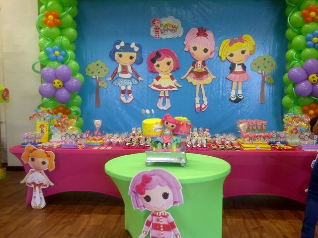 Colorful Lalaloopsy Party #lalaloopsy #party