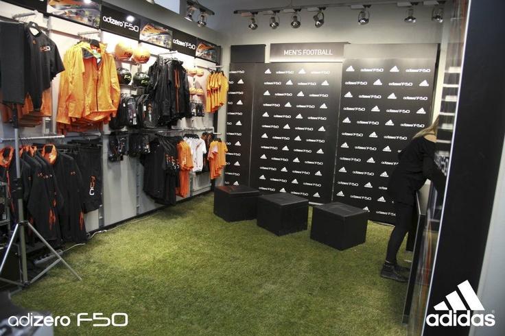 "New adizero F50 @adidas Performance Store Milano (17/02/2011 Milan,Italy) "" New adizero F50 with Lucio "" #inter #milan #lucio #seriea #adidas"