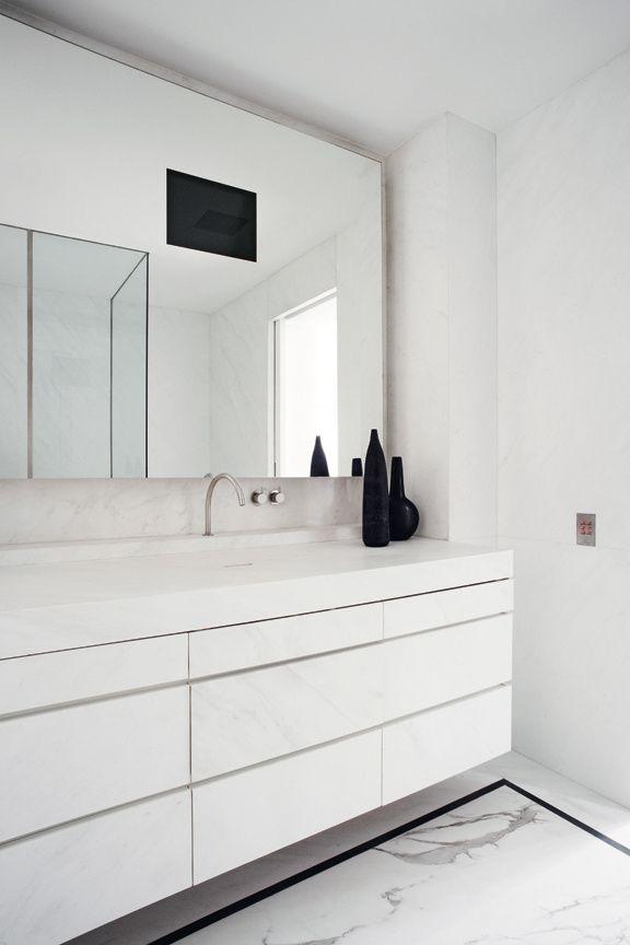 Tadelakt Salle De Bain Moderne : Joseph Dirand Bathroom