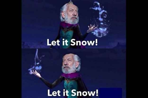 This Frozen tribute | 27 Hunger Games Puns You Can't Help But Laugh At
