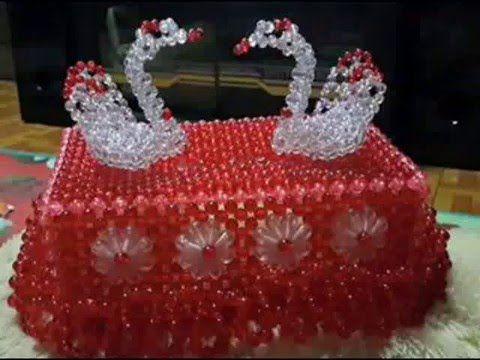 পুঁতির টিসু বক্স এর ডিজাইন / Beads tissue box - YouTube