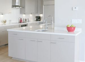 Lovely White Laminate Countertop