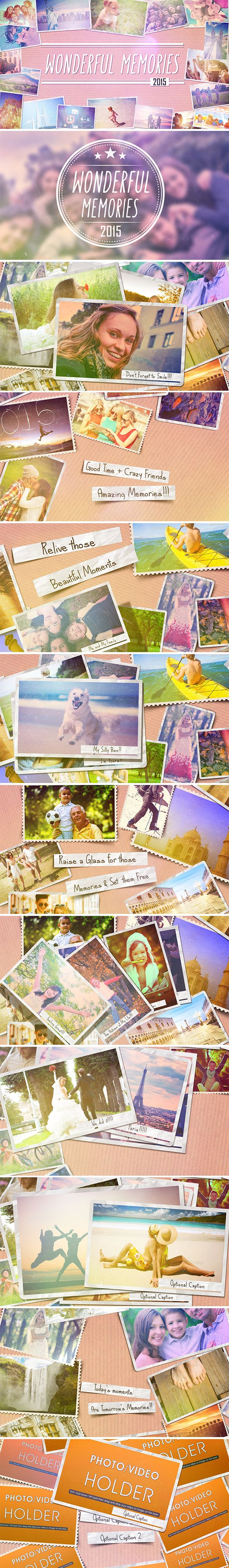 Download Here http://videohive.net/item/wonderful-memories-slide-show/11061159?ref=danywalker