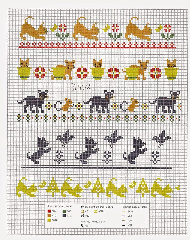 17 migliori idee su schemi di animali all 39 uncinetto su for Schemi punto croce animali gratis