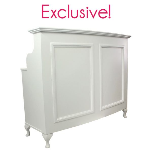 your salon store furniture standard front reception desk beauty room furniture
