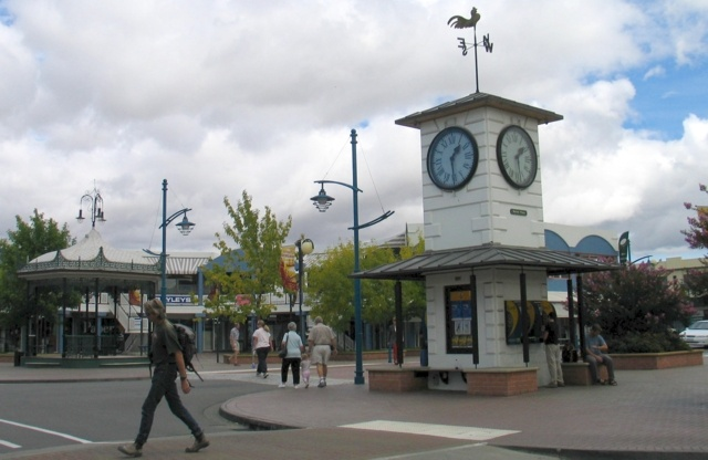 In town Blenheim, Marlborough, NZ