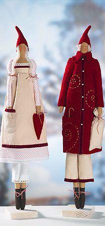 Tilda Toys pour la nouvelle année, le Père Noël, Snow Maiden, ange, bonhomme de neige et d'autres .. Discussion sur LiveInternet - service russe journal en ligne