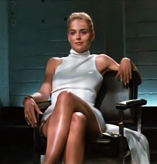 Sharon stone and movie pics